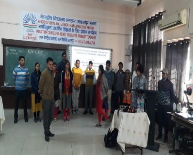 INDUCTION COURSE FOR PRIMARY TEACHERS AT KV VF JABALPUR